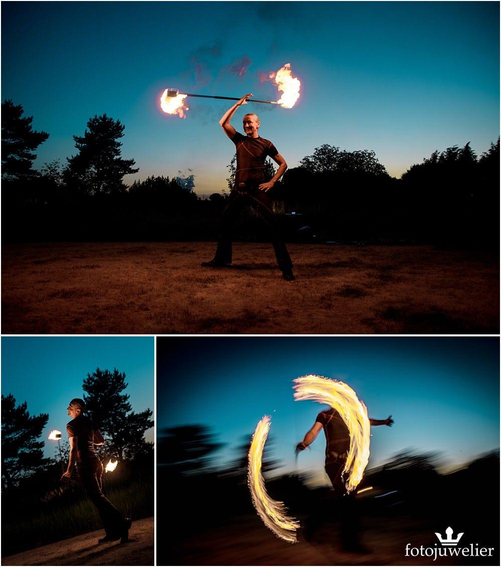 "Eventfotos vom Eventfotograf - Feuershow & LED-Show ""Der Lemmi"""