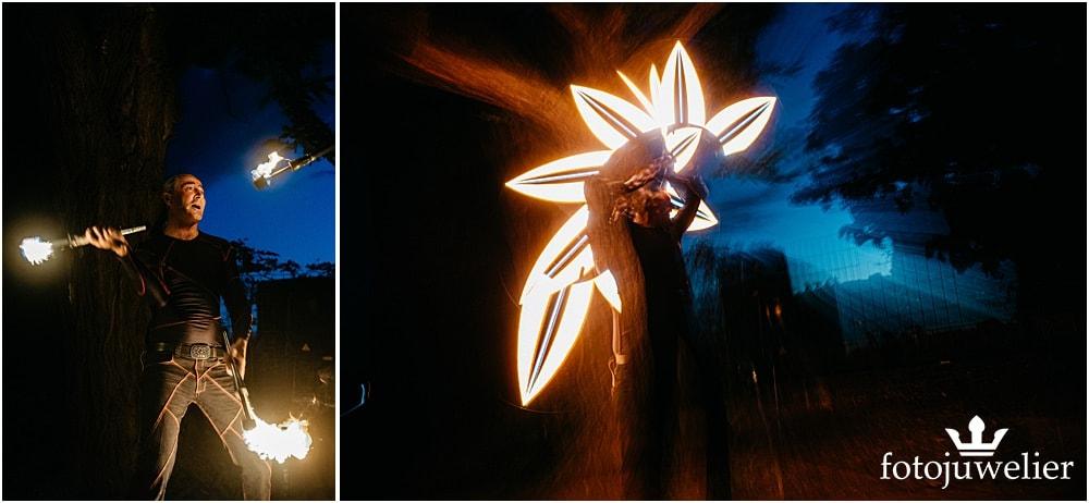 """Eventfotos vom Eventfotograf - Feuershow und LED-Show """"Der Lemmi"""""""