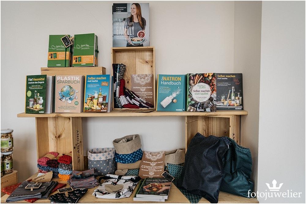 Interieurfotos vom Ladenlokal (im Körbchen) - Unverpacktladen Erftstadt